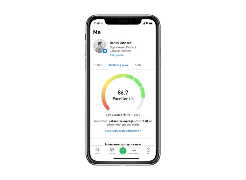 Sprout Health Score Dashboard