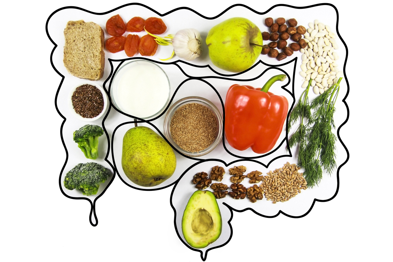 Healthy foods for gut health